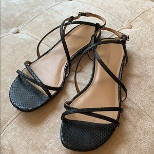 Banana Republic Black Sandals 7